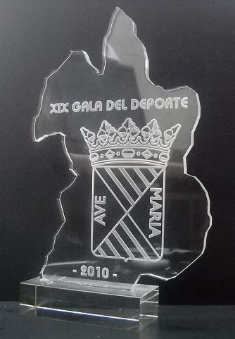 "Trofeo Metacrilato Láser ""Gala"""