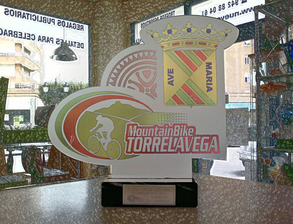 """Trofeo Metacrilato """"MTB"""""""