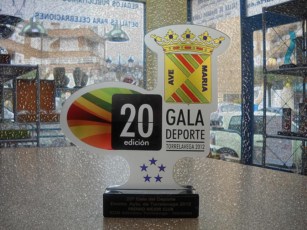 """Trofeo Metacrilato Color """"Gala"""""""