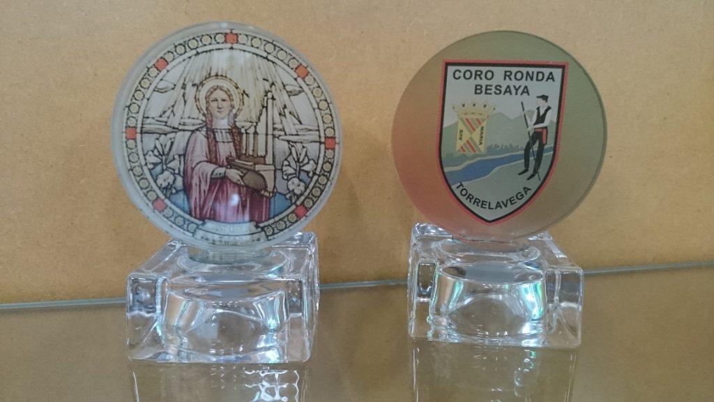 """Trofeo Cristal Color """"Coro"""""""